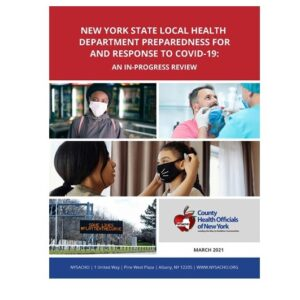 NEW YORK STATE LOCAL HEALTH DEPARTMENT PREPAREDNESS FOR AND RESPONSE TO COVID-19: AN IN-PROGRESS REVIEW
